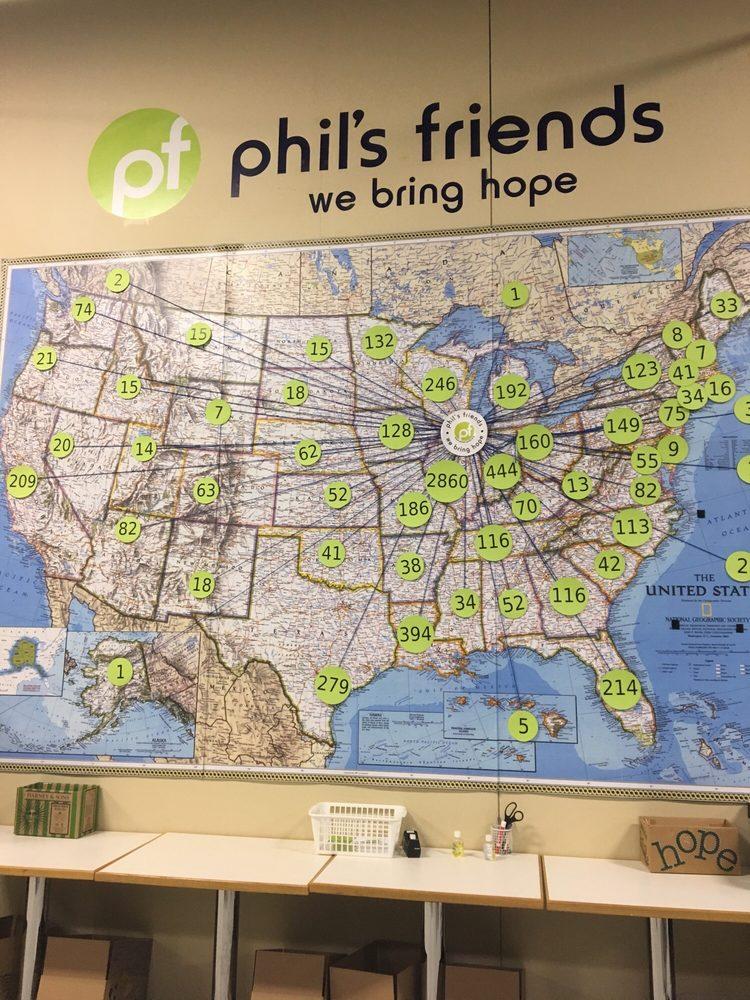Phil's Friends: 1350 Lake St, Roselle, IL