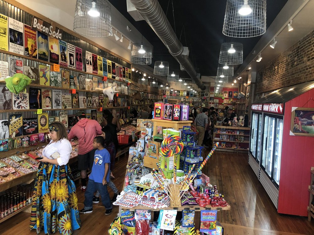Rocket Fizz - Soda & Candy Shop: 1236 Broadway, Columbus, GA