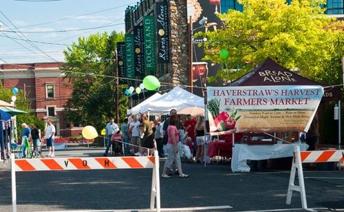 Haverstraw's Harvest Farmers Market: New Main St. & Maple Avenue, Haverstraw, NY
