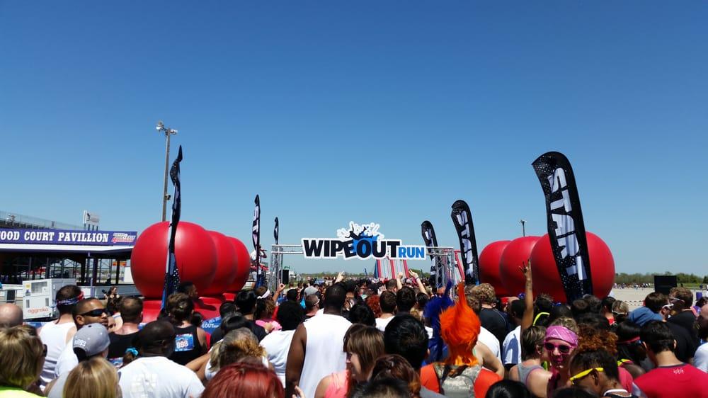 WIPEOUTRUN Houston: Royal Purple Raceway, Baytown, TX