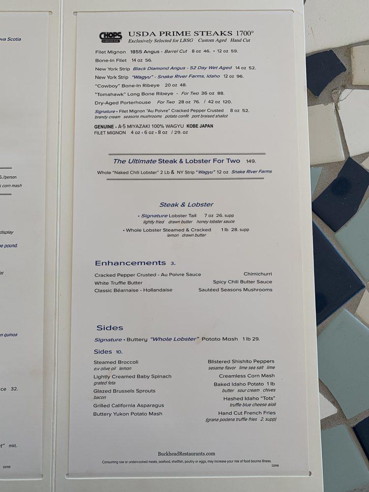 Lobster Bar Sea Grille - Miami Beach