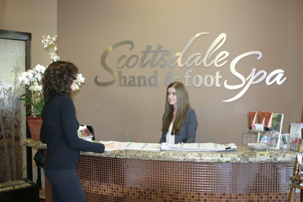 Photo of Scottsdale Hand and Foot Spa - Scottsdale, AZ, United States. Reception