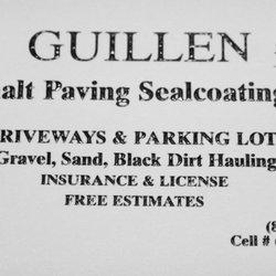 Guillen asphalt paving coating masonryconcrete 1116 bluff city photo of guillen asphalt paving coating elgin il united states business card colourmoves