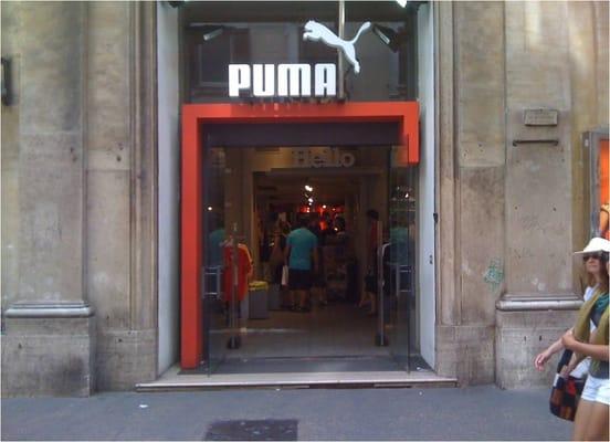 negozio puma roma