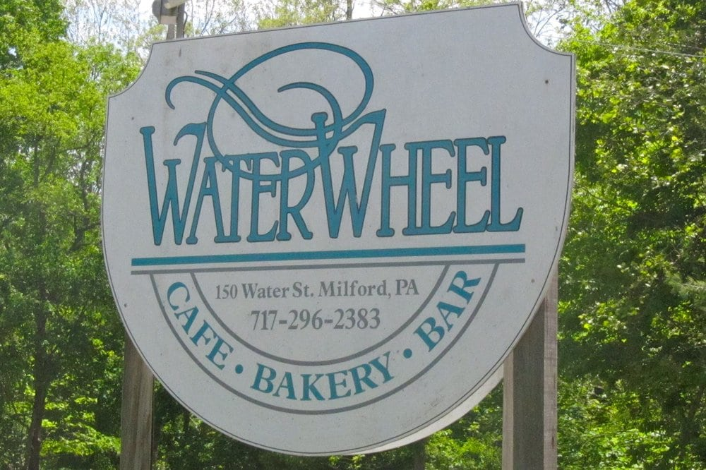 Waterwheel Cafe Bakery Bar Milford Pa