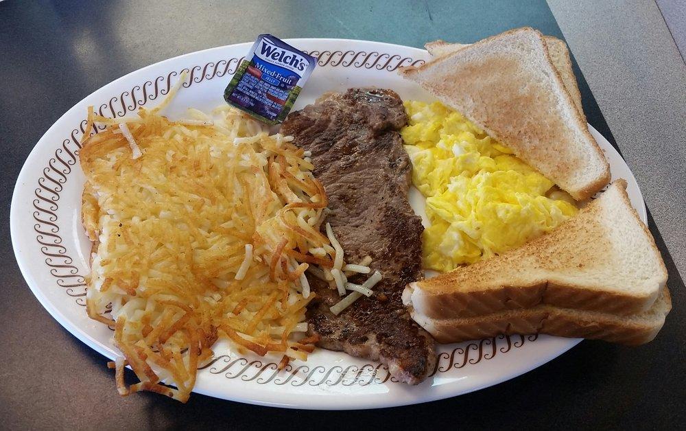 Waffle House: 596 E Jackson Blvd, Erwin, NC