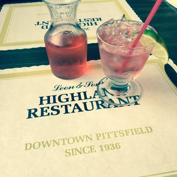 The Highland Restaurant Pittsfield Ma