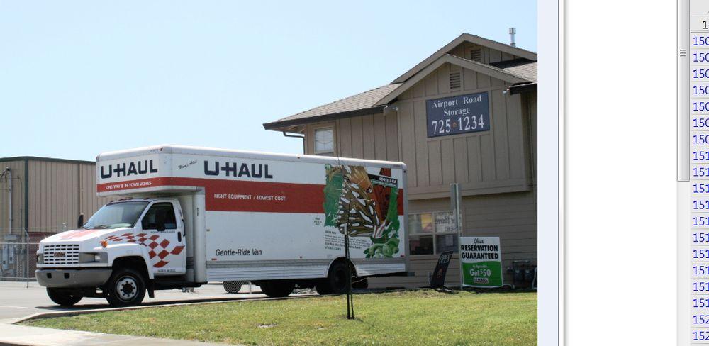 U-Haul Neighborhood Dealer: 1000 Airport Rd, Fortuna, CA