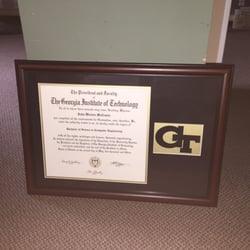 photo of discount picture framing lawrenceville ga united states custom georgia tech - Discount Framing