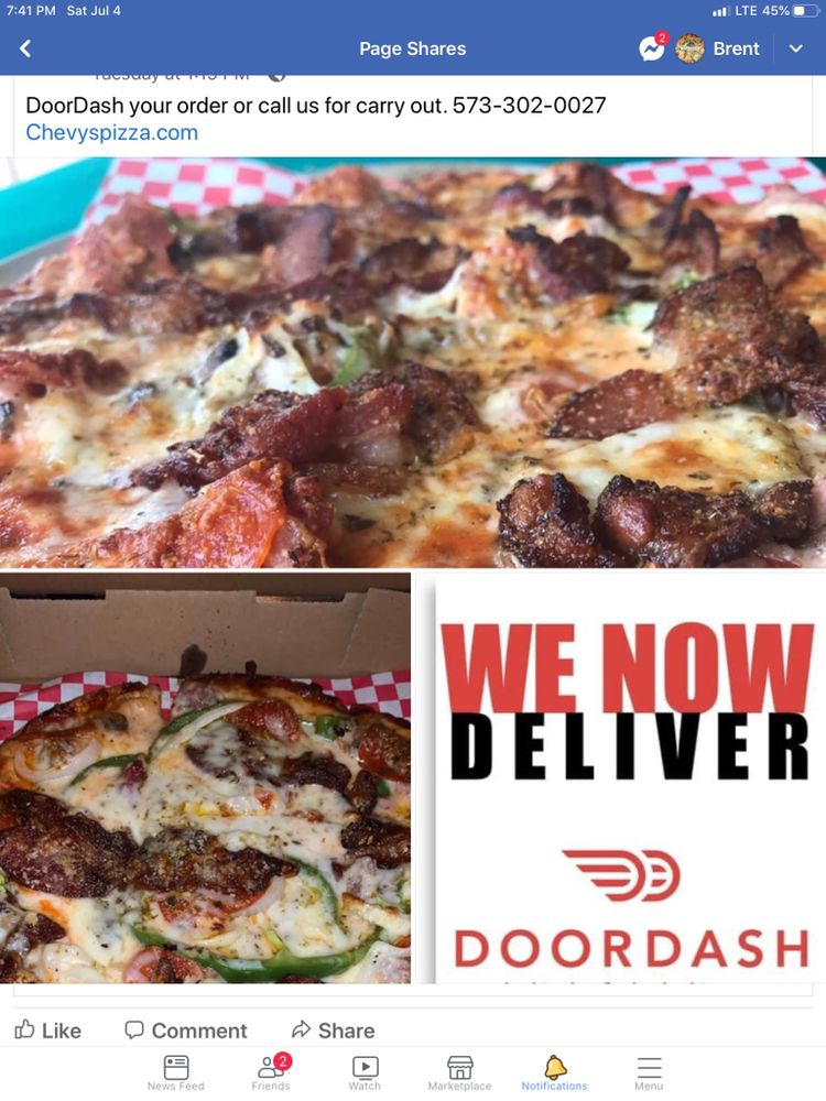 Chevy's Bar and Grill and Pizzeria: 5151 Osage Beach Pkwy, Osage Beach, MO