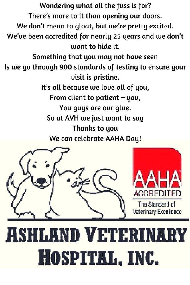 Ashland Veterinary Hospital: 513 S Washington Hwy, Ashland, VA