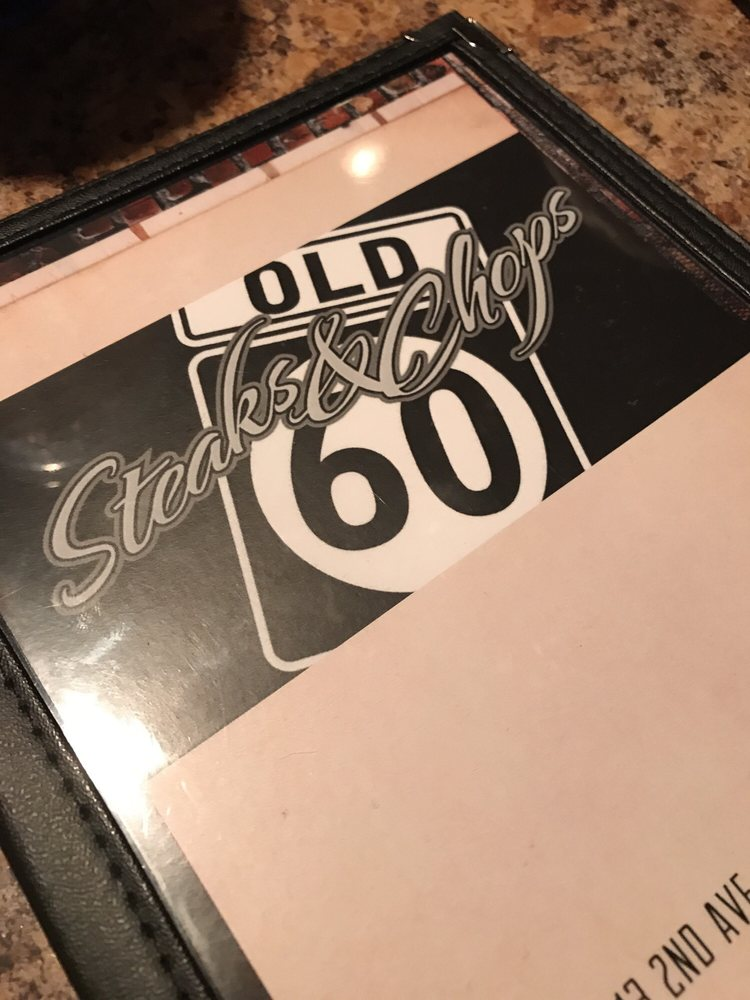 Old 60 Steaks & Chops: 1113 2nd Ave, Sheldon, IA