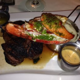 The Park Steakhouse - Park Ridge, NJ, United States. Surf & turf!
