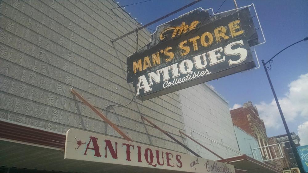The Man's Store Antiques: 616 Conrad Hilton Blvd, Cisco, TX