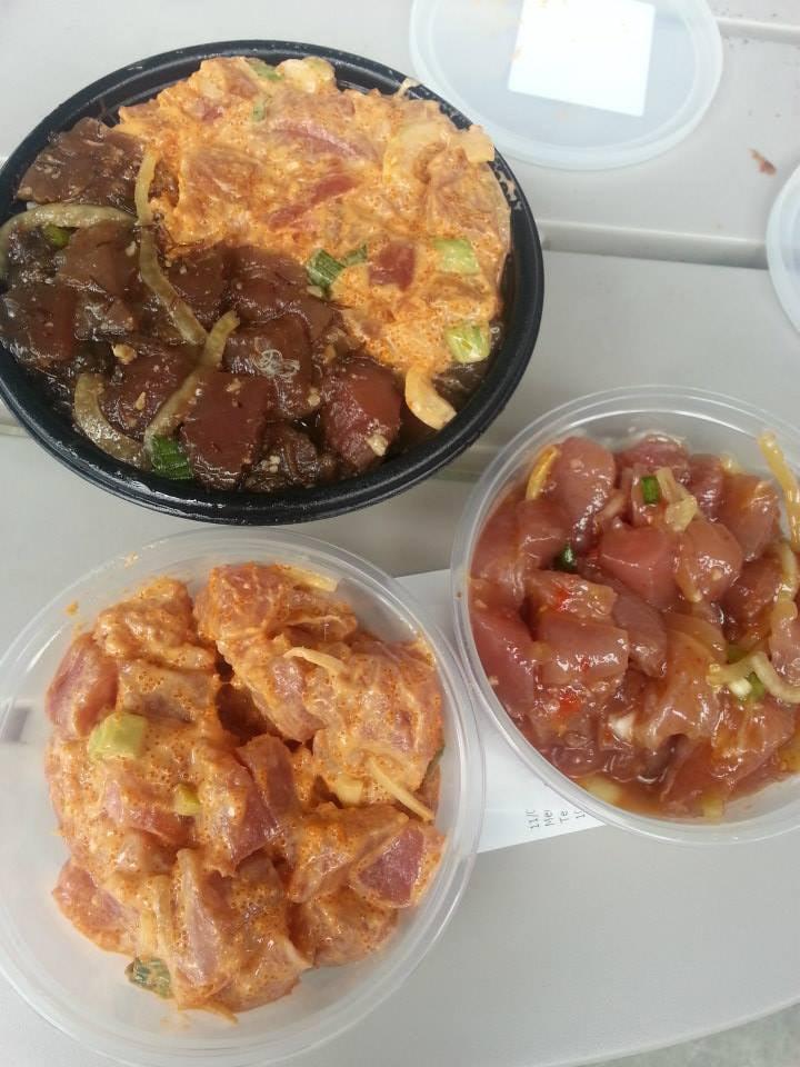 Spicy tuna ahi poke yelp for Suisan fish market