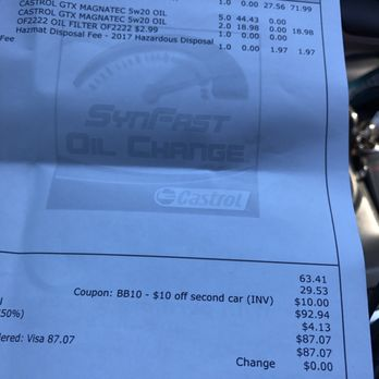 Oil change coupons marina del rey