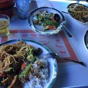 Empress Shrimp And Triple Photo Of Panda Garden   Phoenix, AZ, United  States. Excellent Vegetarian Dishes.