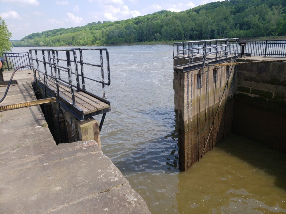 Historic Lock and Dam #2: Marietta, OH