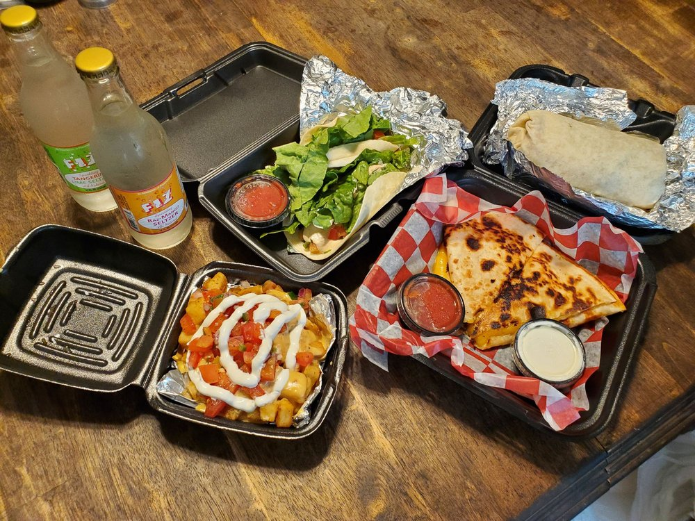 Food from Sol Burrito
