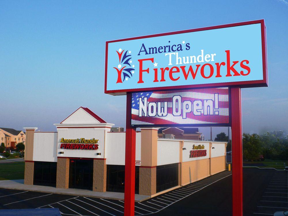 America's Thunder Fireworks: 397 Brenton Way, Shepherdsville, KY