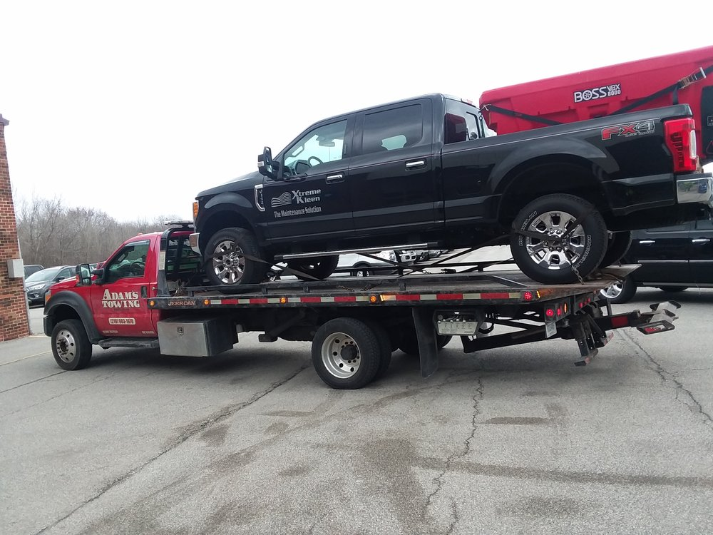 Adams Towing and Repair: 1706 Old Porter Rd, Chesterton, IN