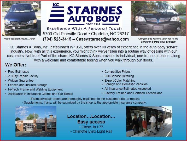 Auto Body Repair Shops Near Me >> KC Starnes Auto Body - Last Updated June 2017 - 12 Reviews ...