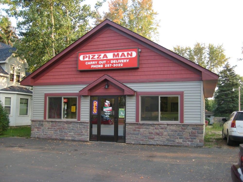 Pizza Man: 12819 Lake Blvd, Lindstrom, MN