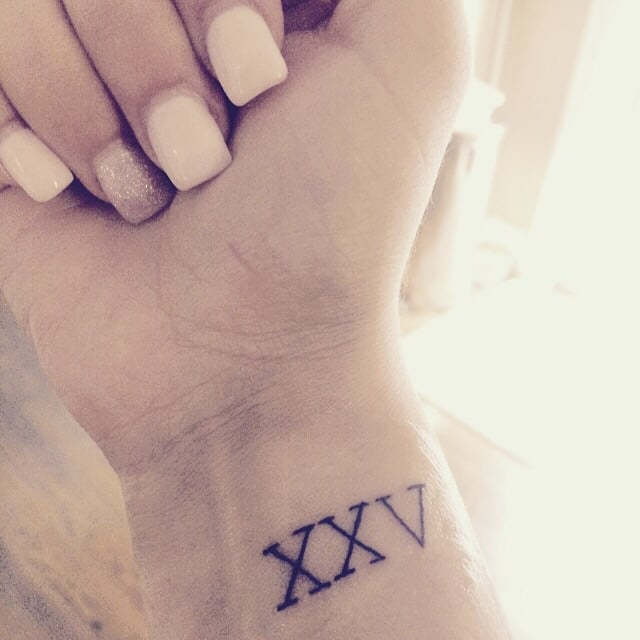 Roman Numerals 25. XXV By: Salty, Dave - Yelp