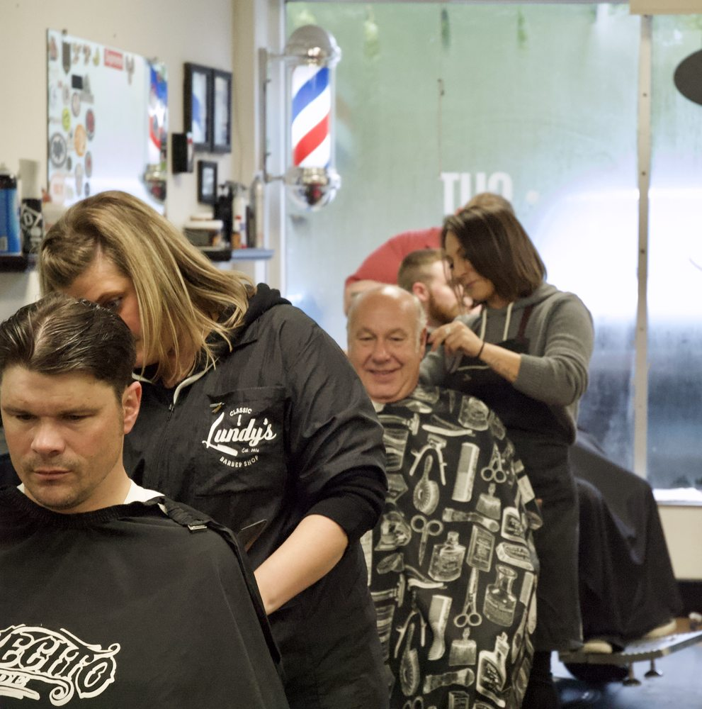 Lundy's Barber Shop: 313 Norwich New London Turnpike, Montville, CT
