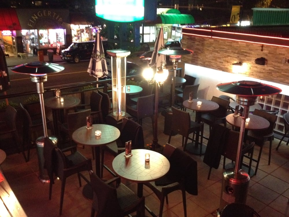 Photo Of Speakeasy On DAVIE   Vancouver, BC, Canada. Warm Heated Patio At