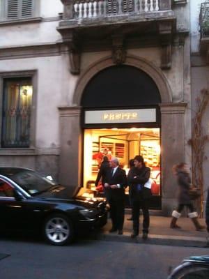 Frette via monte napoleone 21 centro storico milano for Frette milano