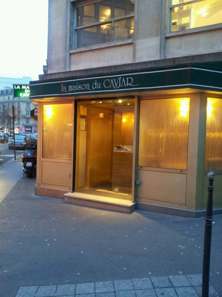 La maison du caviar 10 reviews french 21 rue quentin for La maison du placard paris
