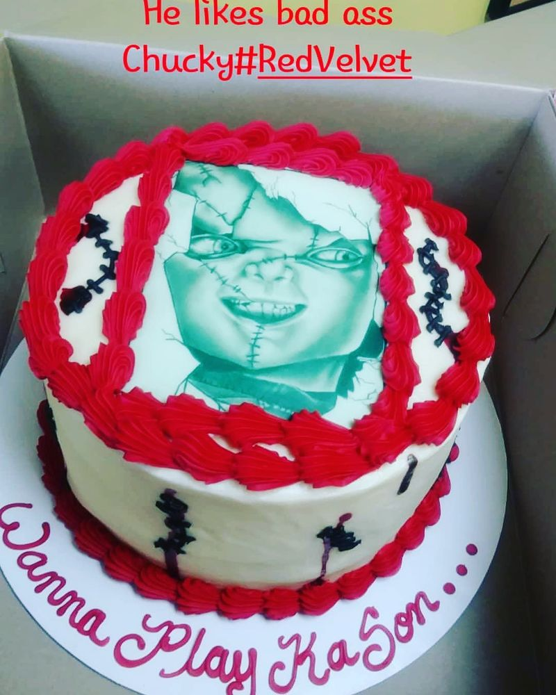 This Was The 1st Time I Ordered A Cake From Them And It Was Amazing