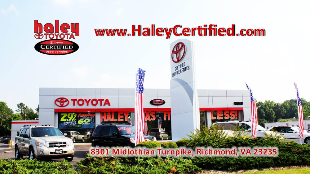 Haley Toyota Certified Sales Amp Service Center 24