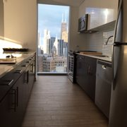 Fitness Center Photo Of Mila Luxury Apartments Chicago Il United States Kitchen View