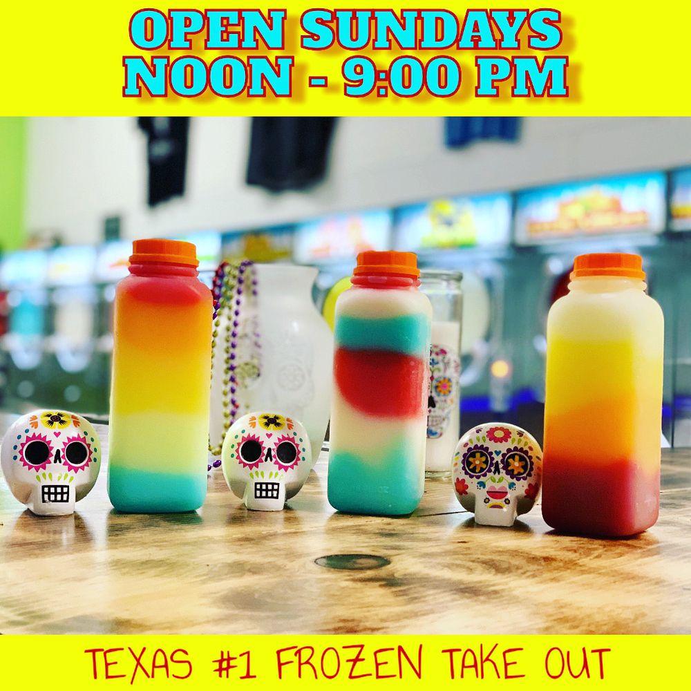 Mr. Froze Margarita: 240 S Saginaw Blvd, Saginaw, TX