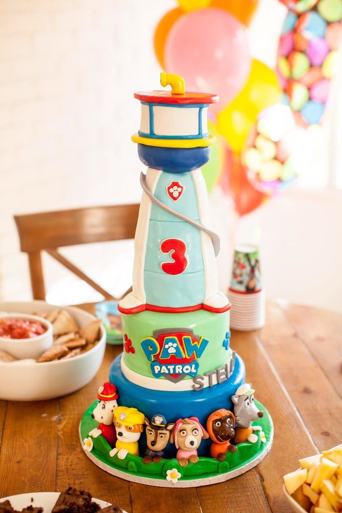 Paw Patrol Birthday Cake Yelp
