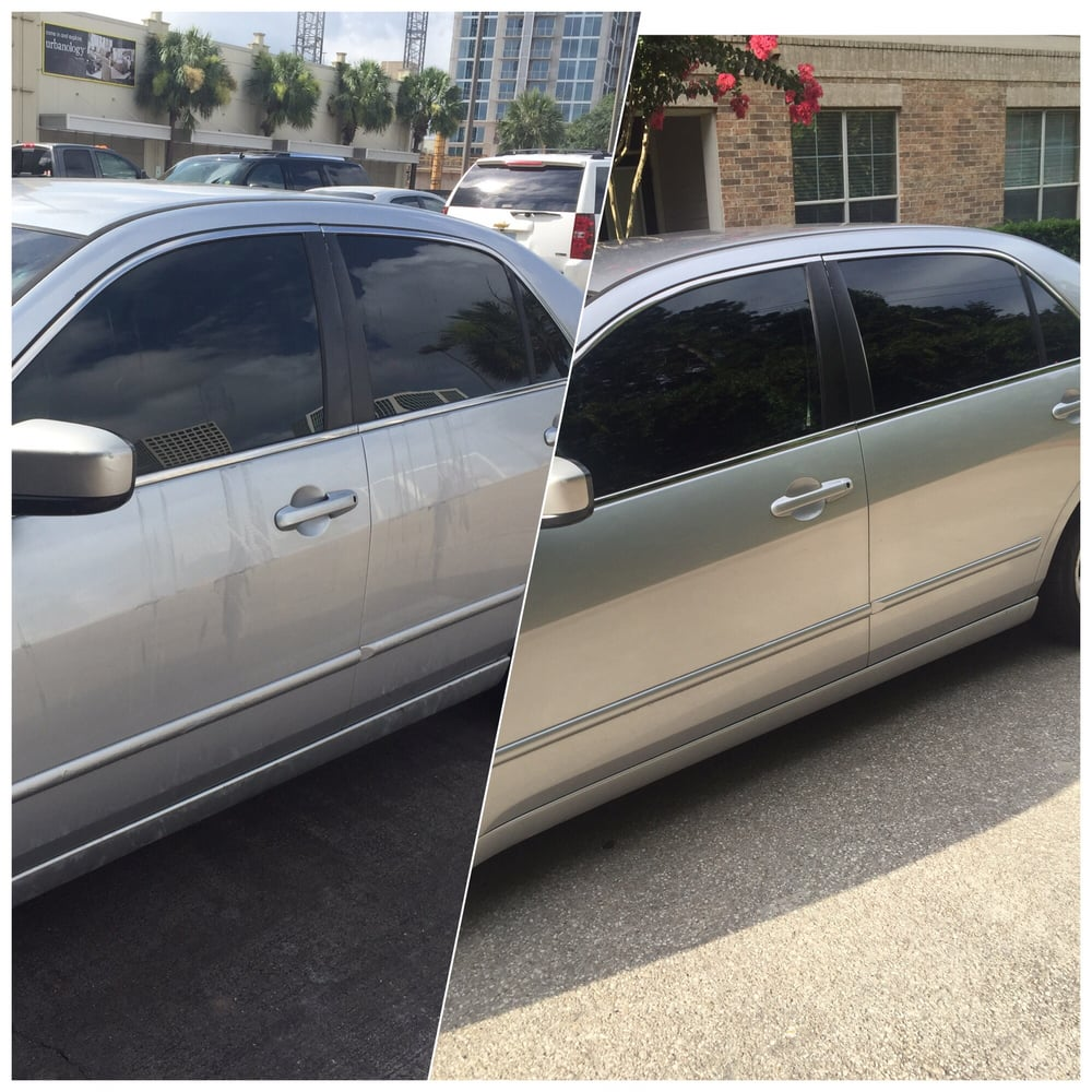 The first pic is when i pick my car up after the car wash the photo of hallelujah hand car wash detailing houston tx united states solutioingenieria Image collections