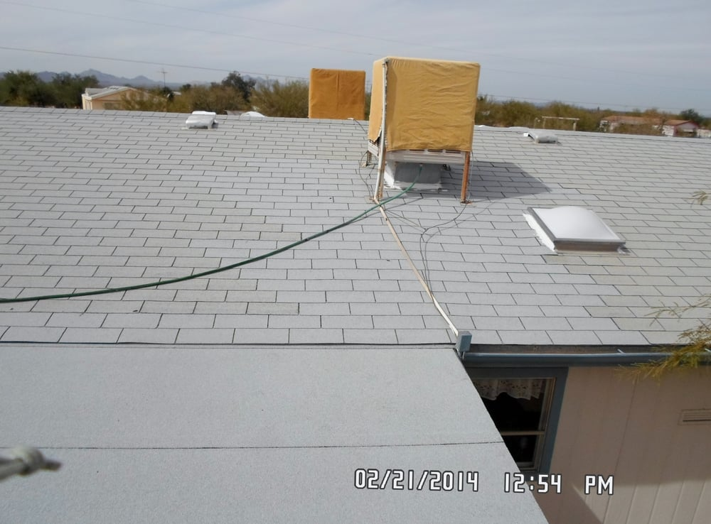 New Shingles Have Been Installed To The Swamp Cooler Area