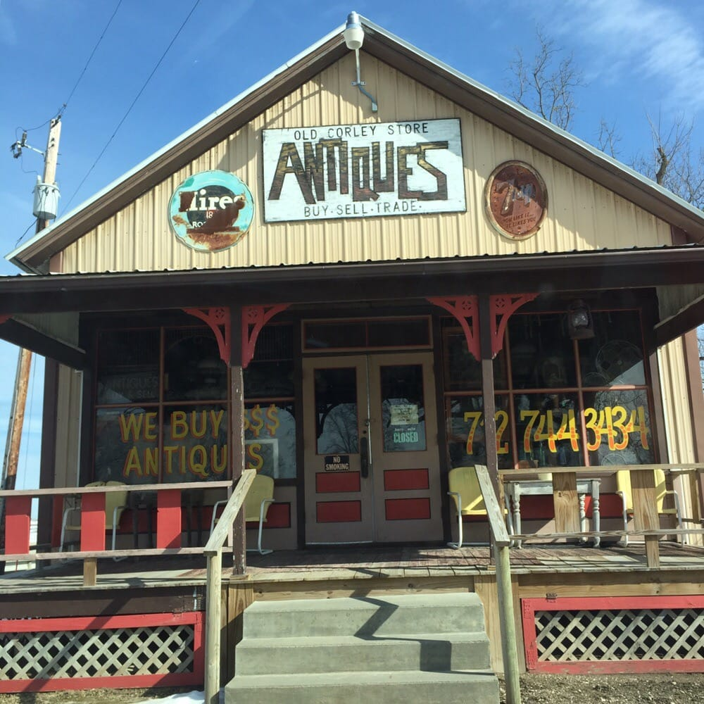 Old Corley Store Antiques: 104 3rd St E, Harlan, IA