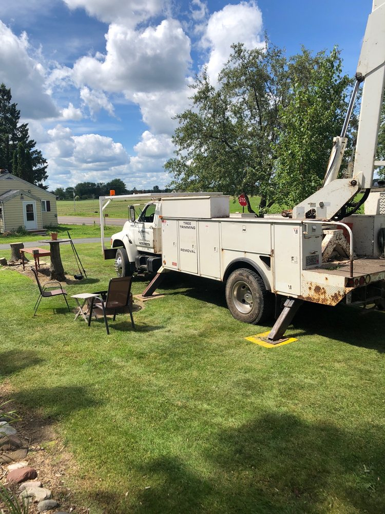 Northwoods Enterprises and Tree Service: 2033 6 1/2 St, Cumberland, WI
