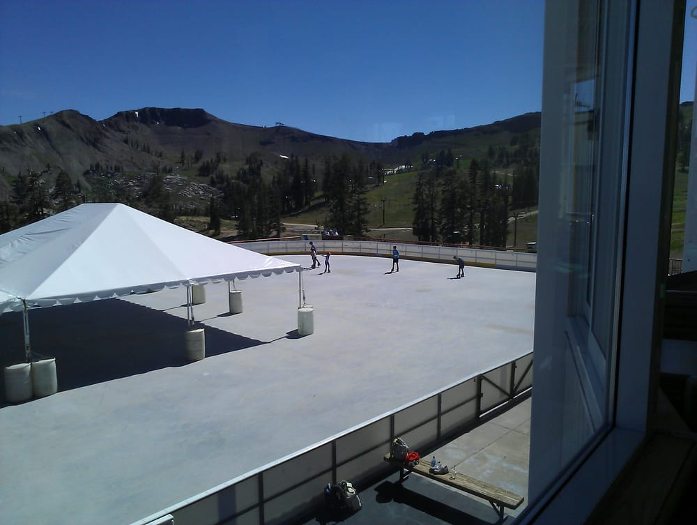 Olympic ice pavillion high camp skating rinks 1960 - High camp swimming pool squaw valley ...