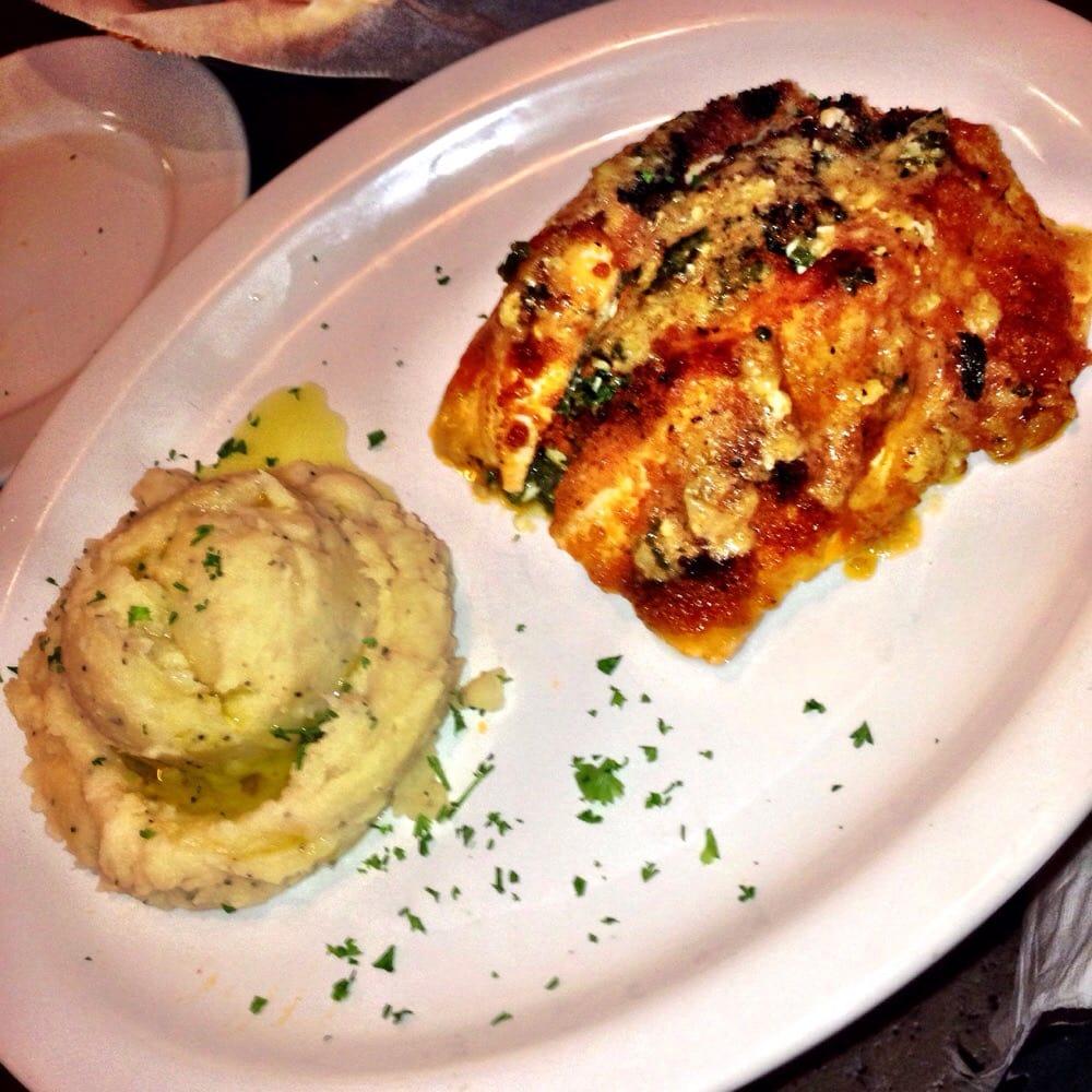 Stuffed Salmon: Salmon Stuffed With Spinach & Feta!