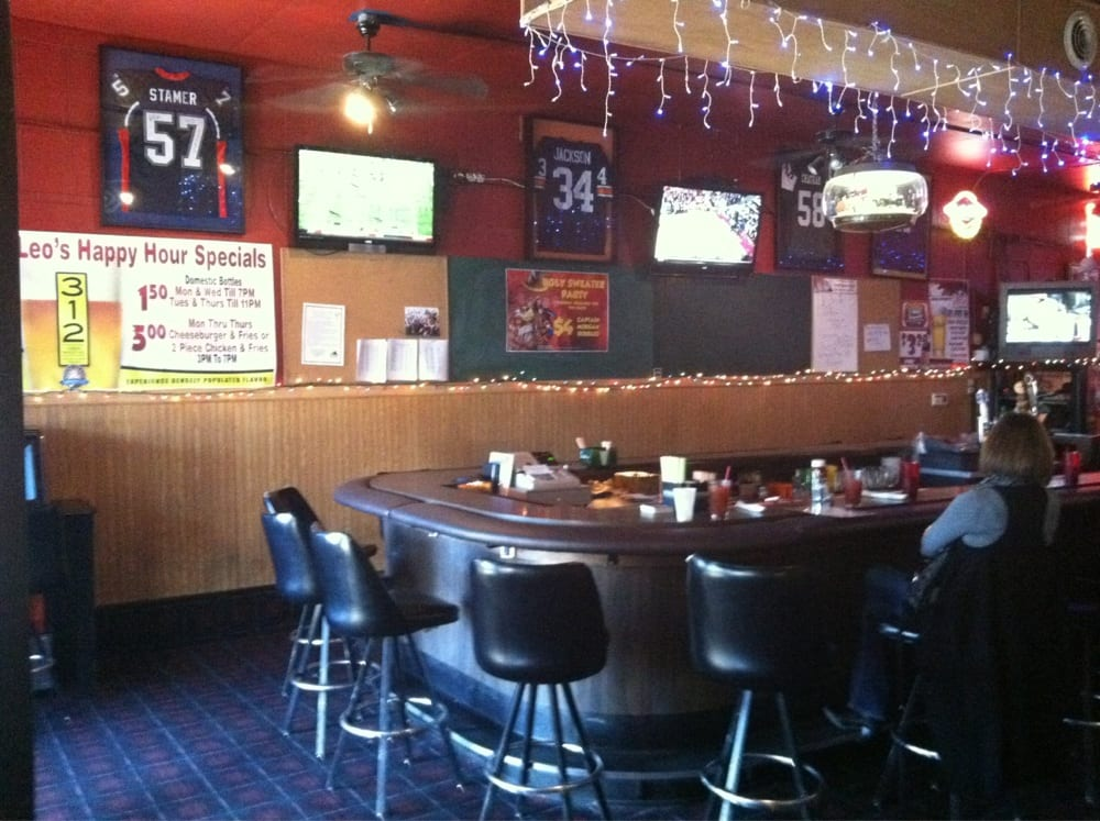 Leo's Sports Bar & Grill: 11 S Market St, Vermillion, SD