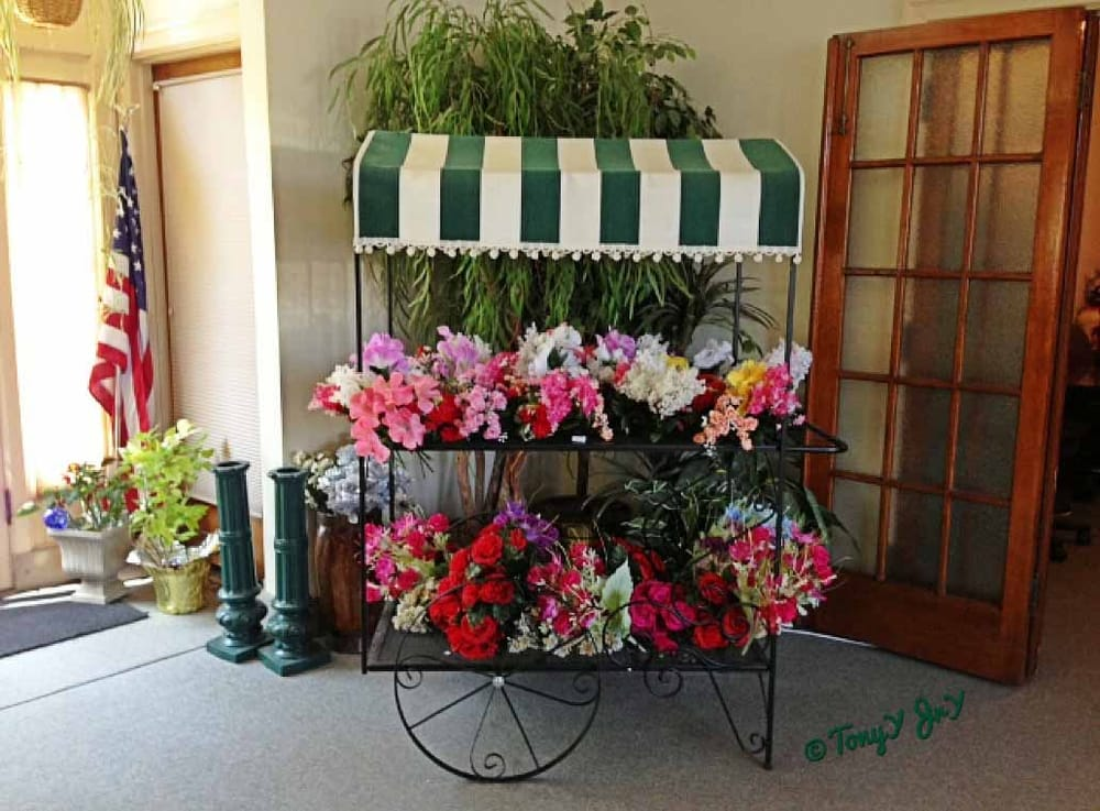 Artificial flowers are available for purchase in their office yelp photo of st peters cemetery saint louis mo united states artificial flowers mightylinksfo