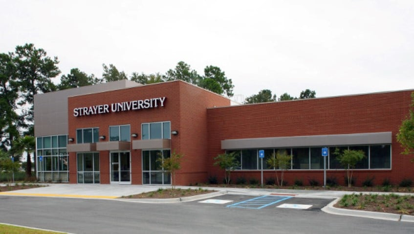 student building strayer university savannah