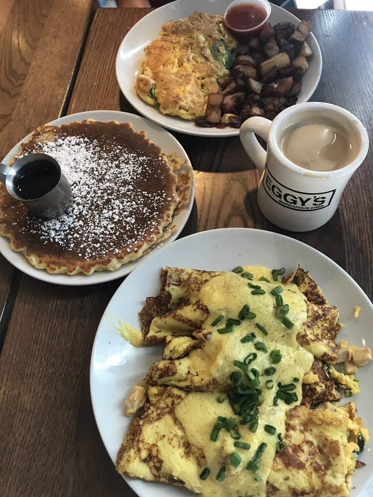 Food from Eggy's - Minneapolis