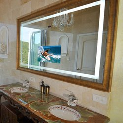 Photo Of Electric Mirror   Everett, WA, United States. Momentum Lighted  Mirror TV