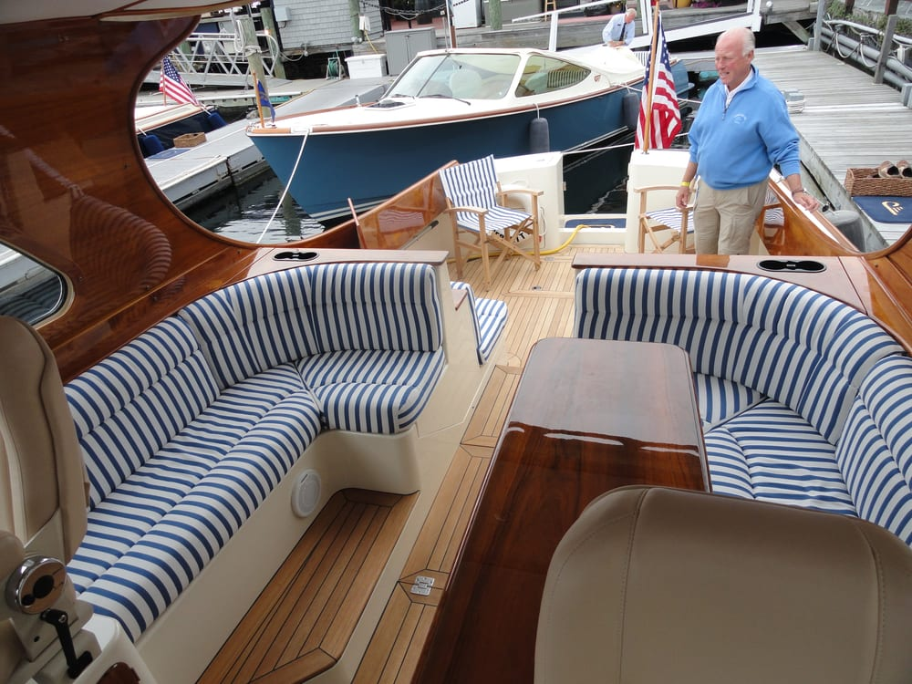 Photo Of Ocean Tailors   South Yarmouth, MA, United States. Boat Cushions  For