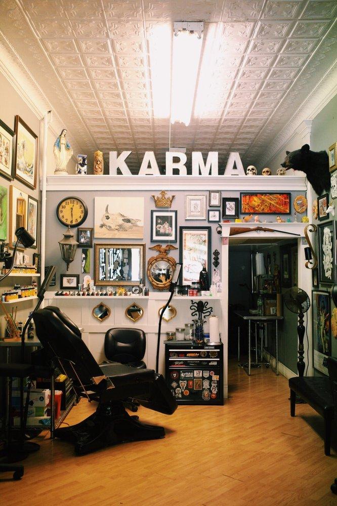 Karma Tattoo: 38 1/2 John St, Kingston, NY